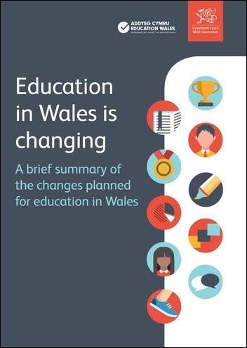 Ny läroplan i Wales, crowdfunding för skolan och två forskarintervjuer