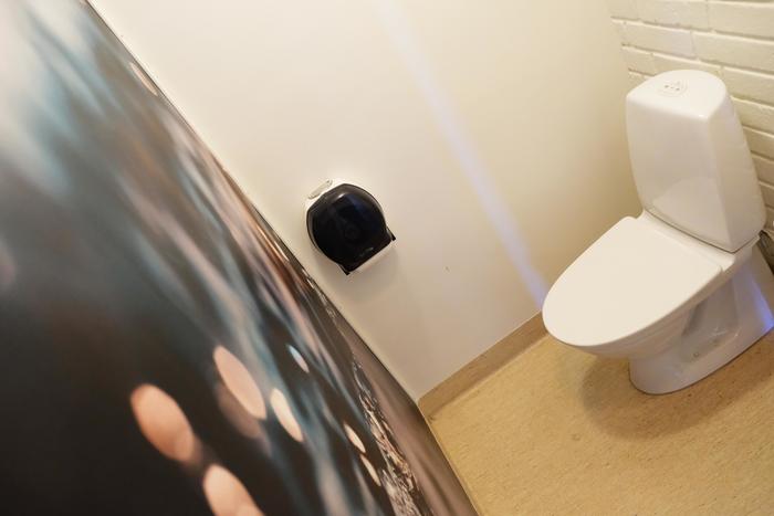 Skoltoaletten blev en trygg miljö med hjälp av sensorstyrda upplevelser