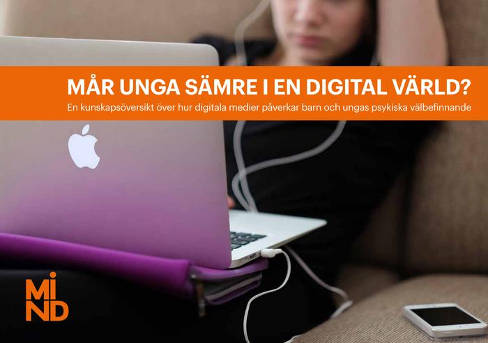 Digitalt lyft för danska lärarutbildare, tvåspråkig fjärrundervisning i Norge samt digitala medier och ungas psykiska välmående