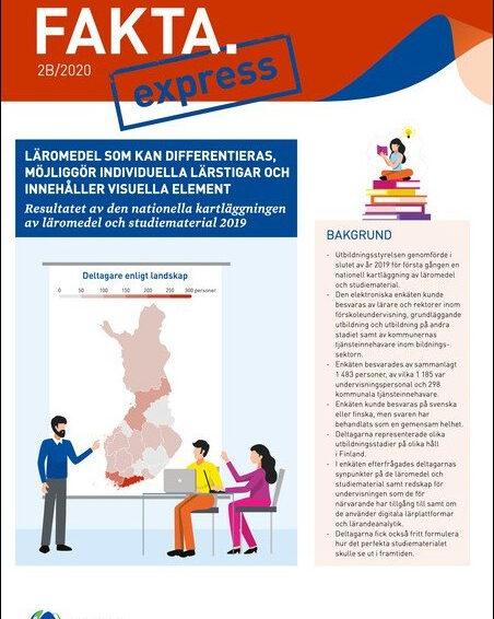 Digitala lärresurser i Finland, stödundervisning på distans samt gymnasiesärskolan under pandemin