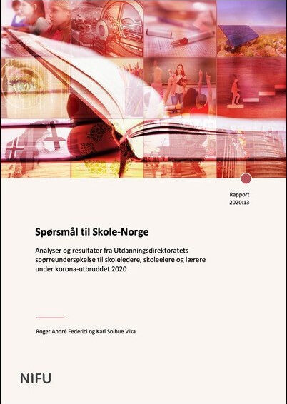Att lära maskinhantering på distans, skolstängningen i Norge samt gymnasielevers upplevelser av distansundervisning
