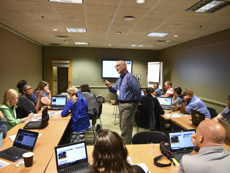 Workshoppar i programmering för lärare